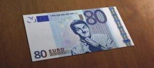 riposo giornaliero del padre banconota falsa