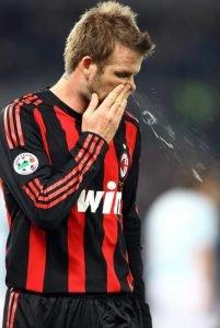 Beckham moccio naso